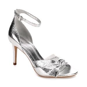 MARC FISHER WOMENS BRODIE HEEL - SILVER